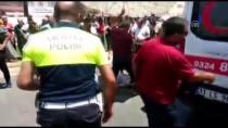 ELEKTRİKLİ BİSİKLET - Antalya'da Trafik Kazası Açıklaması 1 Yaralı
