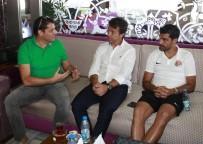 AHMET ÖZTÜRK - Antalyaspor Hollanda'ya Gitti