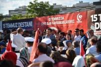 TEKERLEKLİ SANDALYE - Başkan Tiryaki, 15 Temmuz Demokrasi Ve Milli Birlik Günü Anma Programına Katıldı