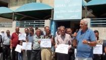 GAZZE - Batı Şeria'da UNRWA Protestosu