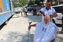 SAÇ KESİMİ - Büyükşehir'den Finike'de Sağlık Hizmeti