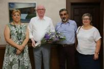 EBTO Başkanı Akif Aladağ Kazım Kurt'u Ziyaret Etti
