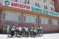 BASKETBOL TAKIMI - Engelli Sporcular Takımlarının Kapatılmasına Tepki Gösterdi