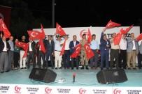 İLÇE MİLLİ EĞİTİM MÜDÜRÜ - Gebzeliler, 15 Temmuz'un Gururunu Meydanlarda Yaşadı