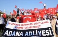DEMOKRASİ NÖBETİ - Hakim, Savcı Ve Yargı Çalışanlarından Demokrasi Yürüyüşü