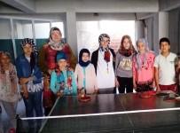 Hisarcık'ta İki Köyde Masa Tenisi Kursu Açıldı