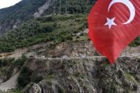GÖZYAŞı - Kahramanlar Kürtün'de Güllerle, Dualarla Karşılandı