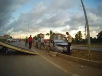 Karasu'da Trafik Kazası Açıklaması 2 Yaralı