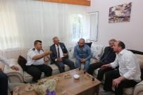 YUSUF ZİYA ÇELİKKAYA - Kaymakam Çelikkaya Ve Başkan Dişli'den 15 Temmuz Gazilerine Ziyaret