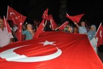 SAYGI DURUŞU - Mudanya 15 Temmuzu Yeniden Yaşadı