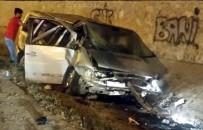 GÜRCISTAN - Samsun'da Trafik Kazası Açıklaması 5 Yaralı