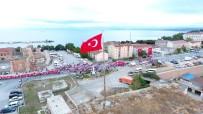 SINOP VALISI - Sinop'ta 15 Temmuz Milli Birlik Ve Beraberlik Yürüyüşü