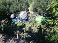 AĞAÇLı - Söke'de Traktörün Altında Kalan Çiftçi Hayatını Kaybetti