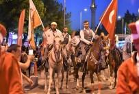 DEMOKRASİ NÖBETİ - Uşak'ta 15 Temmuz Destanı Binlerle Anıldı