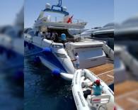 DEMIRLI - Acun Ilıcalı'nın Teknesi 'Survivor' Batma Tehlikesi Geçirdi