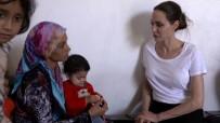 ANGELİNA JOLİE - Angelina Jolie Suriyeli Mültecileri Ziyaret Etti