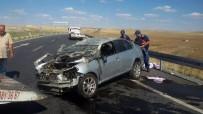 JANDARMA - Ankara'da Trafik Kazası Açıklaması 2 Ölü, 7 Yaralı