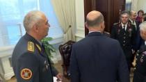 İÇİŞLERİ BAKANI - Bakan Soylu, Kazak Komutan Jaksilikov'u Kabul Etti