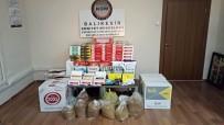 SIGARA - Balıkesir'de Kaçak Tütün Operasyonu