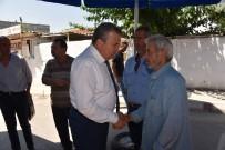 CENAZE NAMAZI - Başkan Çerçi'den Hayatını Kaybeden İşçinin Ailesine Taziye