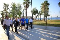 ANTALYASPOR - Başkan Türel, Konyaaltı Sahili'ni Denetledi