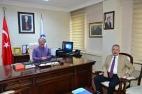 BARTIN ÜNİVERSİTESİ - Beşel'den Rektör Uzun'a Veda Ziyareti
