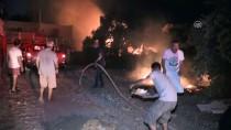 ATATÜRK BULVARI - Bodrum'da Tarım Arazisi Ve Otluk Alanda Yangın