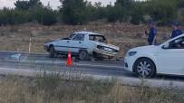 Dursunbey'de Kaza Açıklaması 1 Ölü, 2 Yaralı