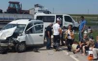 Edirne'de Trafik Kazası Açıklaması 17 Yaralı