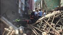 KİREMİTHANE - GÜNCELLEME - Mersin'de Kullanılmayan Bir Bina Çöktü
