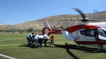 SOMUNCU BABA - Kalp Krizi Geçiren Vatandaşın İmdadına Hava Ambulansı Yetişti