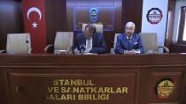ESNAF VE SANATKARLAR ODALARı BIRLIĞI - Karacan'dan İSTESOB'a Ziyaret