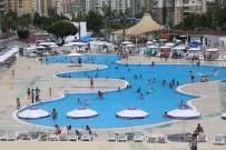 CANKURTARAN - Mezitli Belediyesi Su Parkı Sıcak Yaz Aylarının Vazgeçilmezi Oldu