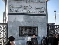 REFAH SINIR KAPISI - Mısır, Refah Sınır Kapısı'nı kapatıyor