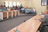 İŞ SAĞLIĞI VE GÜVENLİĞİ - Niğde Belediyesinde İş Sağlığı Güvenliği Toplantısı Yapıldı