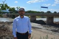 YENİ KÖPRÜ - Niksar'da İkinci Köprü Yapım Çalışmaları Hızla Devam Ediyor