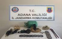 OKSİJEN TÜPÜ - Petrol Boru Hattında Hırsızlık Yapan 2 Kişi Yakalandı
