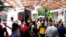 Samsun'da Otomobil Şarampole Devrildi Açıklaması 8 Yaralı