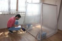 İŞ MAKİNESİ - Tarım İşçisi Fikir Verdi, Güneş Enerjili Klima Üretti