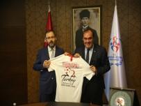 AVRUPA FUTBOL ŞAMPİYONASI - TFF Başkanı Demirören'den Bakan Kasapoğlu'na Hayırlı Olsun Ziyareti