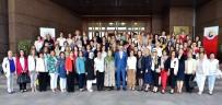 İL BAŞKANLARI - TOBB Kadın Girişimcileri İl Başkanları Hisarcıklıoğlu İle Bir Araya Geldi
