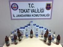 KARAYOLLARI - Tokat'ta Sigara Ve Alkol Kaçakçılarına Operasyon