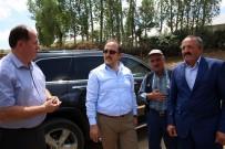 ALI ERDOĞAN - Vali Ali Hamza Pehlivan Yukarı Ve Aşağı Pınarlı Köylerini Ziyaret Etti