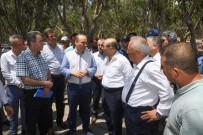 Vali Demirtaş Karataş'ta Yapılan Arıtma Tesisini İnceledi