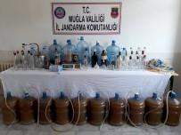 İÇKİ ŞİŞESİ - 220 Litre El Yapımı Alkol Ele Geçirildi