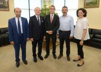 HAŞIM KıLıÇ - Alman Başkonsolos Birgelen'den BTSO'ya Veda Ziyareti