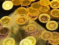 ÇEYREK ALTIN - Altının ons fiyatı bir yılın en düşük seviyesinde