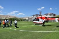 Ambulans Helikopter Yine Kalp Krizi Vakası İçin Havalandı
