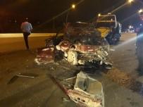 YıLDıRıM BEYAZıT - Ankara'da Feci Kaza Açıklaması 1 Ölü, 4 Yaralı