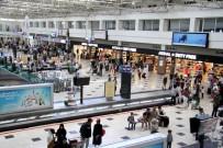 YERLİ TURİST - Antalya'ya Havadan Gelen Turist Sayısı 6 Milyona Ulaştı